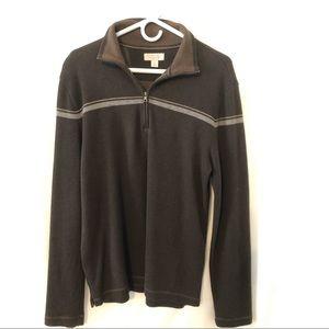 Banana Republic men's sweater brown
